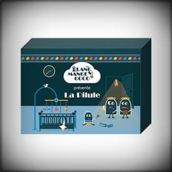 BLANC MANGER COCO : LA PILULE200 cartes supplémentaires. La Pilule est une extension pour le jeu Blanc Manger Coco.