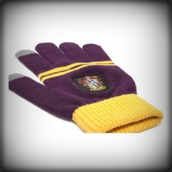GANTS TACTILES GRYFFONDOR POURPRE & OR