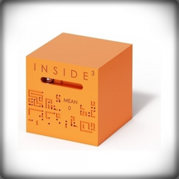 INSIDE CUBE SÉRIE Ø - ORANGE