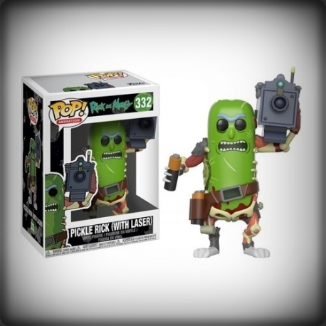 POP RICK ET MORTY - PICKLE RICK WITH LASER